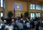 Speaking at Rossmoor Republican Club.